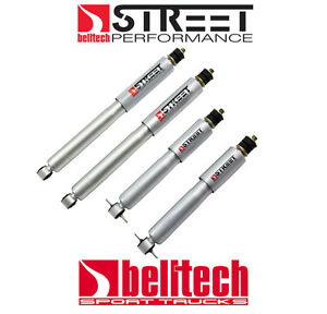 97-03 Ford F150 Street Performance Front/Rear Shocks for 2/4 Drop