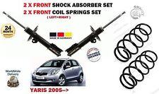 per Toyota Yaris VVTi + D4D 2005- > 2 x ANTERIORE Ammortizzatori + 2