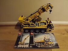 Lego Technic 8421 Motorised Mobile Crane - 100% Complete - Excellent Condition