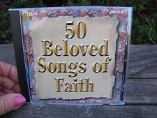 50 Beloved Songs of Faith CD Religious Christian Hank Williams Eddy Arnold + Mor