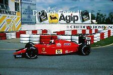Gerhard Berger Ferrari 640 San Marino Grand Prix 1989 Photograph 1