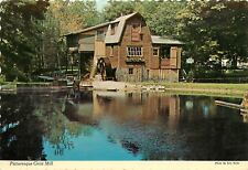 Grist Mill Saugatuck Michigan MI summer resort art center Postcard