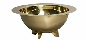 Diesel Living With Seletti Cosmic Collection Lunar Salad Bowl Gold