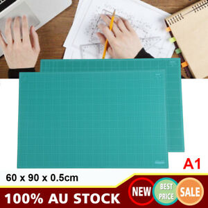 New A1 Thick 5-Ply Self Healing Craft Cutting Mat 2-Side Print Quilting 60x90cm