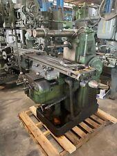 Kearney Amp Trecker 2hl Plain Horizontal Milling Machine