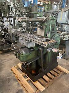 KEARNEY & TRECKER 2HL Plain Horizontal Milling Machine
