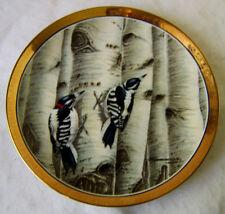 Pawnee Creek Press Ltd. Downy Woodpecker Decorative Plate / J.F. Landenberger