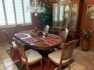 Dining Room Set Plus Buffet with Hutch