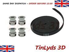 GT2 6mm Timing Belt and Pulleys, 20 Teeth 8mm Bore Prusa Reprap 3D printer part