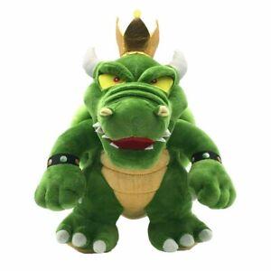 "New Super Mario Bro. King Green Koopa Bowser 12"" Plush Toy Doll Stuffed Animal"