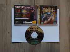 SEGA SATURN GOLDEN AXE THE DUEL JAPAN/ NTSC VERSION