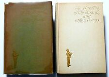 1903 Lewis Carroll THE HUNTING OF THE SNARK 1st ed w/ dj & 40 Newell plates