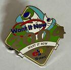 "2005 eBay Live San Jose Want It Now 2004 10 yrs Enamel Pin New 1/2"" Rare"