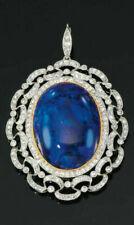 Beauty Round White Gold Fine Diamond Necklaces & Pendants