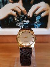 Schöne Vintage 70er Jahre Armbanduhr Centaur-Handaufzug-Lederarmband