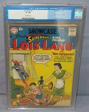 SHOWCASE #9 (Superman's Girlfriend Lois Lane 1st app) CGC 1.8 GD- DC Comics 1957