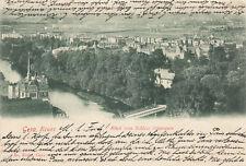 Gera Blick von Schloss Osterstein 1900