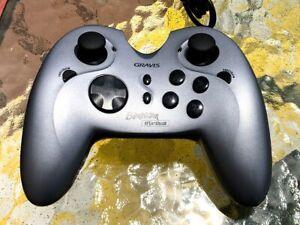 Gravis Eliminator AfterShock Rumble Game Pad USB PC Controller