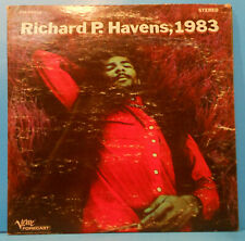 RICHIE HAVENS RICARD P. HAVENS 1983 2X LP 1968 PLAYS GREAT PLAYS GREAT! VG+/VG!!
