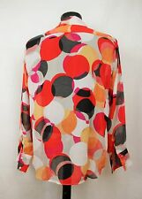 Mens Vtg 70s Style Ladies HAND MADE Prince Crazy Festiva Shirt Psychedelic M