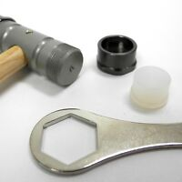 Bergeon 30417 Watchmaker Hammer Bi-Materials Nylon & Brass Ends - HH30417
