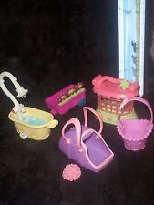 Hasbro LPS✿✿LITTLEST PET SHOP Portable Carriers  & ACCESSORIES TOY LOT~
