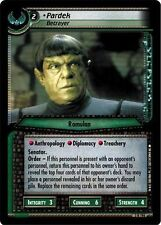 Star Trek CCG 2E Call To Arms Pardek, Betrayer 3R196