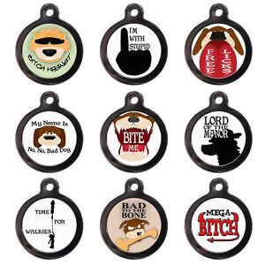 Funny Dog Tags - Pet ID Tags - Custom Pet Tag - Engraved FREE-Pet Identification