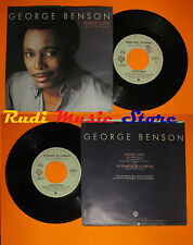 LP 45 7'' GEORGE BENSON Inside love In search of a dream 1983 italy cd mc dvd*