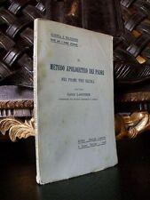 Luigi Lauguier IL METODO APOLOGETICO DEI PADRI  Desclée 1906 Teologia
