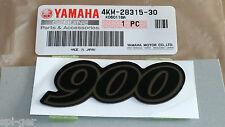 Xj-900 Yamaha desvío Seca Nuevo Genuino Carenado calcomanía emblema Insignia 4km-28315-30