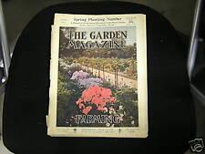 Garden Magazine April 1909  Art Deco Nouveau