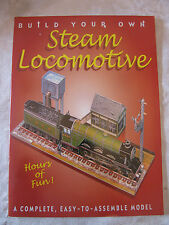 Build Your Own Steam Locomotive : A Complete, Easy-to-Assemble Model (2002, Kit)