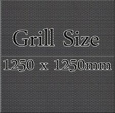 Large Speaker Cabinet Steel Mesh Grille  1250 x 1250mm
