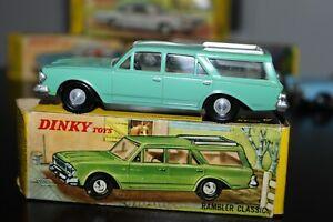 Dinky Toys  57/006  Rambler Classic  mint & its Original box