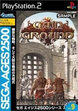 Used PS2 Sega AGES 2500 Vol. 9 Gain Ground SONY PLAYSTATION JAPAN IMPORT