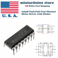 4pcs L293D L293 DIP Push-Pull Four-Channel Motor Driver Controller with Diodes