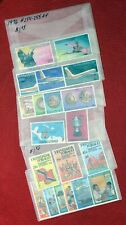 1975-1977 Trinidad & Tobago Collection of 6 mint complete sets