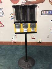 Lypc Vending Machine Triple Play Three Select Gum Candy Tri Vend Bulk 25 Cent