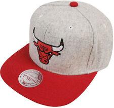 Mitchell & Ness chicago bulls melange Flannel eu912 Snapback Caps capuchón basecaps