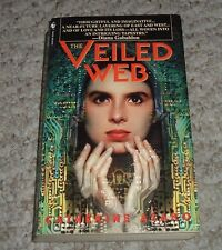 1999 THE VEILED WEB Catherine Asaro Ballerina Lucia del Mar Internet Mystery pb