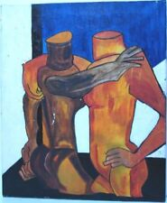 Peintures du XXe siècle et contemporaines en scène de genre pour cubisme