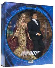 James Bond Girl Barbie Ken Dolls Secret Agent Action Figure Spy 007 Xmas Gift