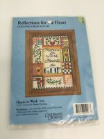 Hands to Work Hearts to God Counted Cross Stitch Kit 5096 5 Inch x 7 Inch
