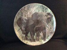 Royal Doulton African Elephants, Decorative Collectors Plate, D6481