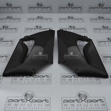 HONDA CBR125R CBR150R FRONT PAIR SIDE FAIRINGS PANEL SET BLACK 2004 - 2007