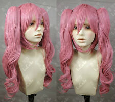 One Piece Perona Pink Cosplay Wig w/s Ponytail