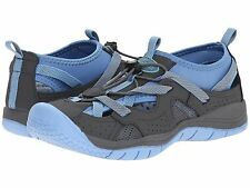 Maine Woods Venice Women's Gray Blue Sneakers Athletic Shoes~Hook & Loop~Size 11