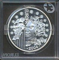 France 2004 - 1 1/2 Euro Silver Coin - European Union Expansion - Proof