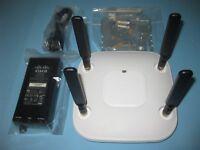 Cisco Aironet 3602E Stand-Alone Autonomous Wireless AP AIR-CAP3602E-A-K9 PoE Kit